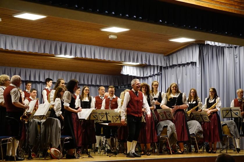 Musikverein Sontheim, 90 Jahresfeier, Berghalle Heroldstatt
