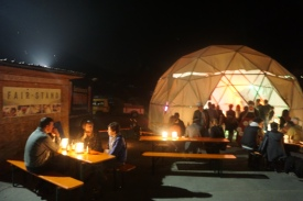 Das von den Haudegen aus Geislingen gestaltete Kuppelzeit rundete den Abend in tanzender Geselligkeit ab