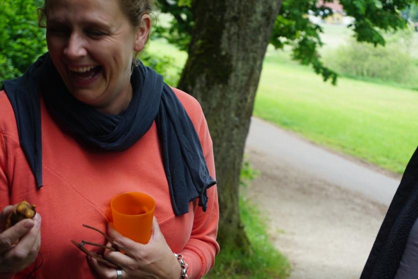 Eine Frau hatte Spaß mit ihrer Interpretation der Venus