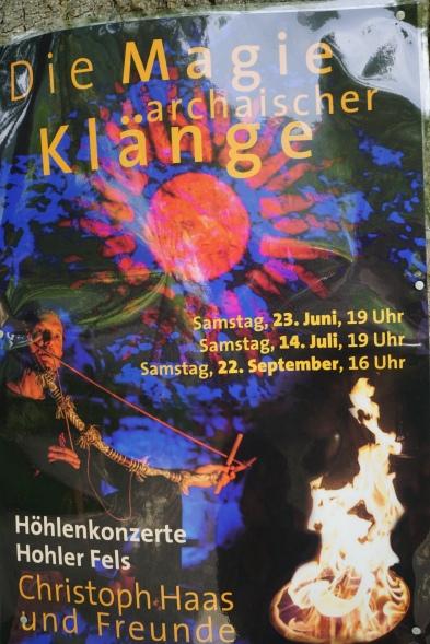 Eine Gelegenheit die Hohle Fels als Konzertlocation zu erleben